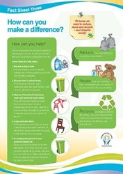 Fact Sheet 3: How can you make a difference?